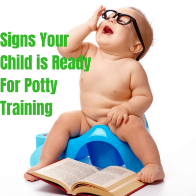 Signs Your Child is Ready to Potty Train