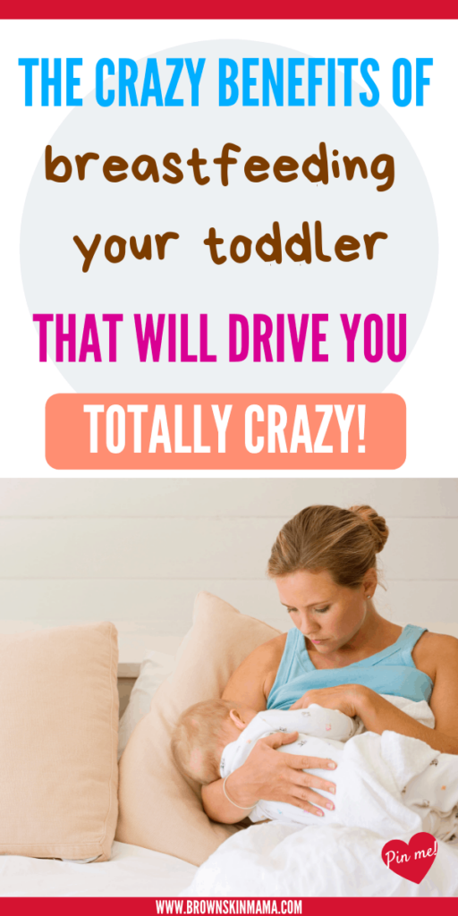 Great tips for breastfeeding your toddler on days where you feel like giving up. The benefits for your toddler are amazing. You can read lots more here!