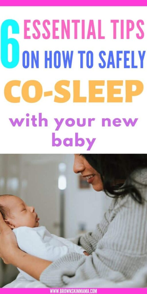 Find out how to safely co sleep with baby whilst getting a good nights sleep for yourself too. Learn all about the benefits of co sleeping.