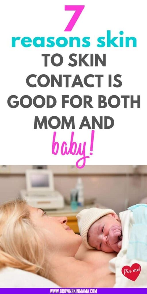 Skin to skin contact is one of the most important things you can experience with your newborn baby. There are lots of great benefits to doing it