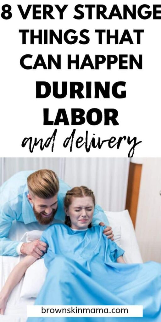 Do you know what to expect during the delivery of your baby? Childbirth can throw up lots of unexpected things for mom. these 8 tips will give you lots of insight into all the embarrassing things that can happen during labor.
