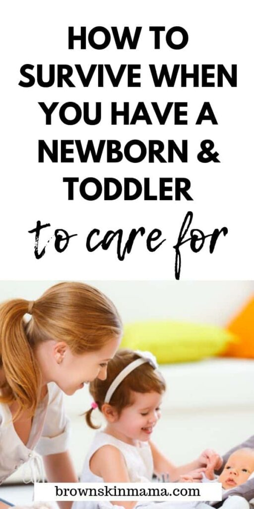 Your life can change drastically when you go from being a mom of one to a mom of 2. Pick up some great tips here on how to make the transition much smoother | Coping With A Newborn And Toddler