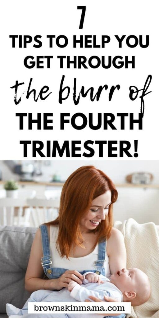 Surviving the fourth trimester can be difficult but it's also a really special time. Pick up some tips on how to get through the postpartum phase and have a quick postpartum recovery period