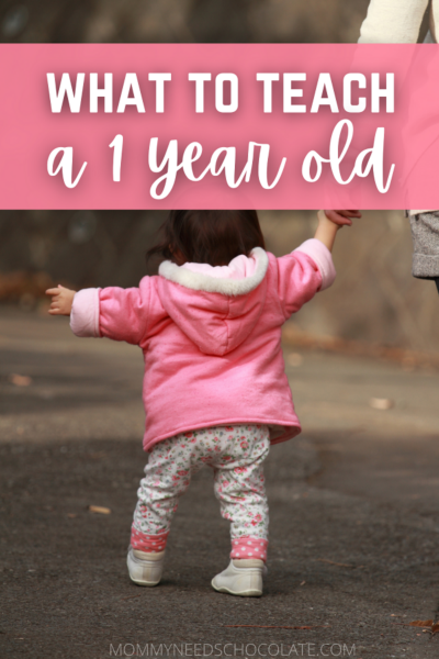 what to teach a 1 year old