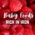 Baby Food Rich in Iron (+3 Puree Recipes!)