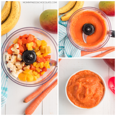 Carrot Recipes for Babies